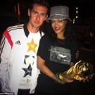 Rihanna and klose