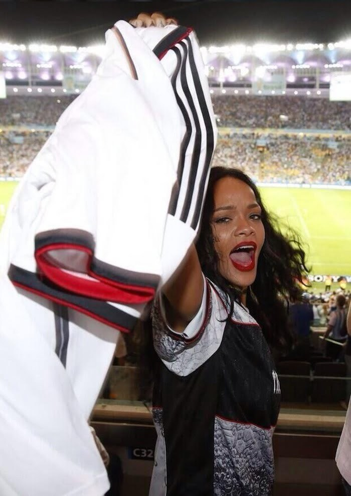 Rihanna at World Cup 1