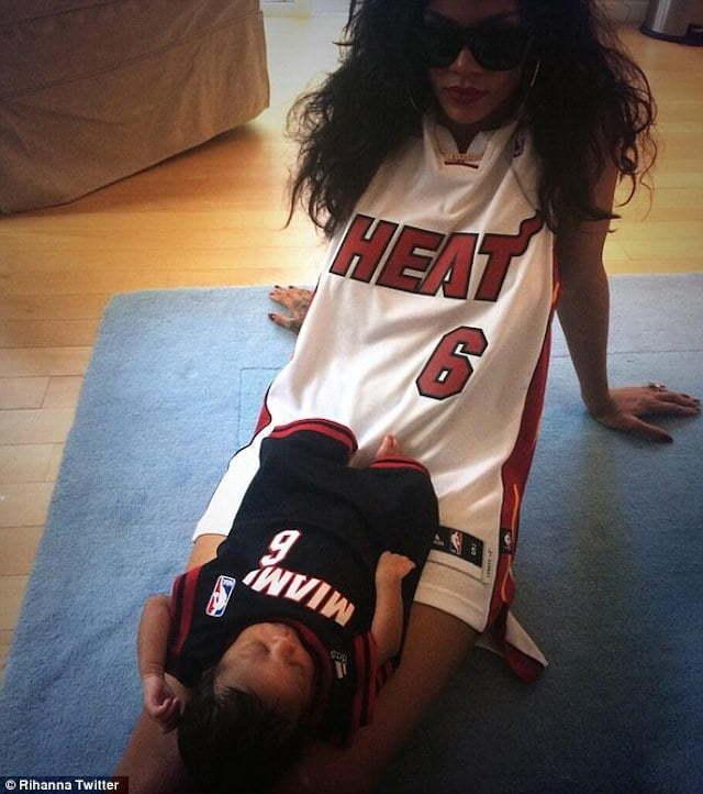Rihanna baby niece 1