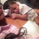 Rihanna baby niece 3