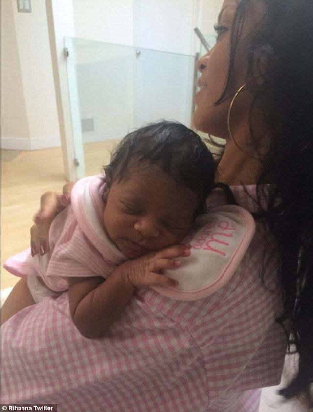 Rihanna baby niece