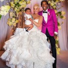 Amber Rose Wiz Khalifa wedding photo