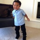 Amber Rose Wiz son Baby bash