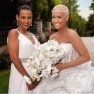Amber Rose and her mother
