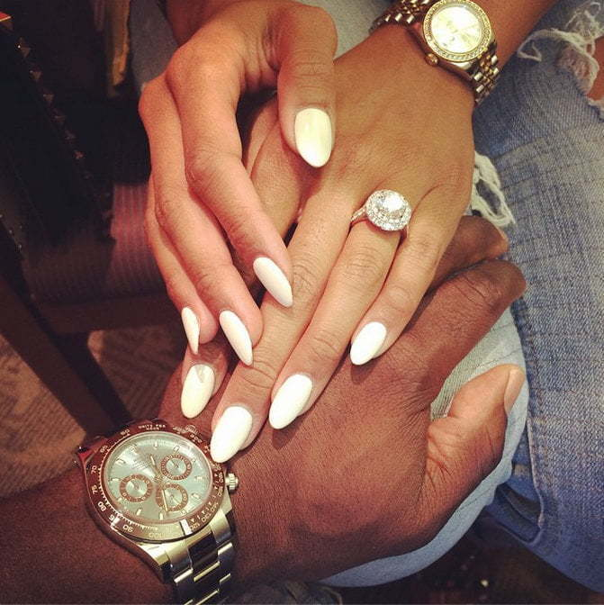 Eniko Parrish engagement ring
