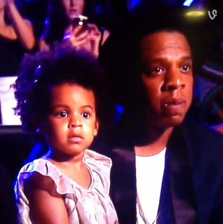 Jay Z and Blue Ivy