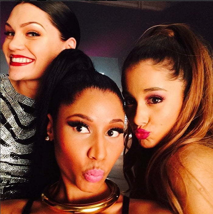Jessie J Nicki Minaj and Ariana Grande
