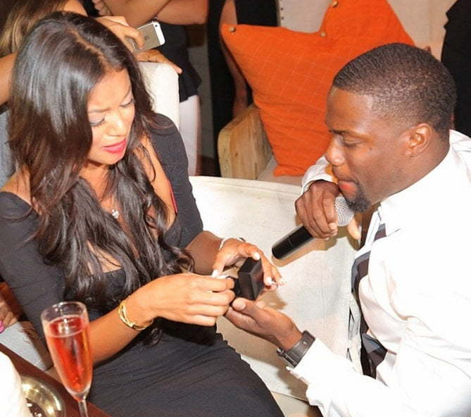 Kevin Hart Eniko engaged
