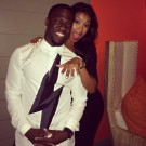 Kevin Hart fiance Aniko PArrish