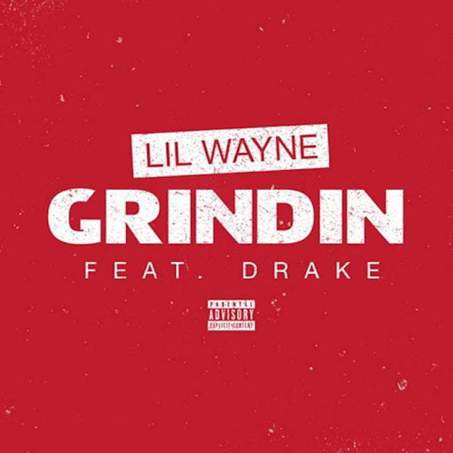 Lil Wayne Drake Grindin artwork