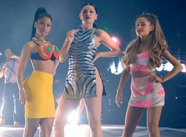 """WATCH: Jessie J – """"Bang Bang"""" Ft. Nicki Minaj, Ariana Grande [Official Video]"""