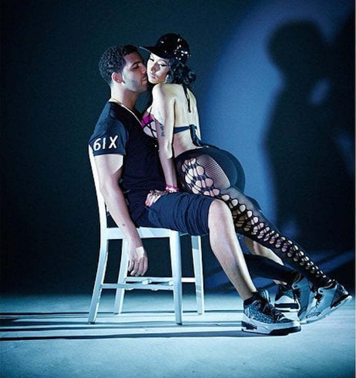 Nicki Minaj Drake lapdance 1
