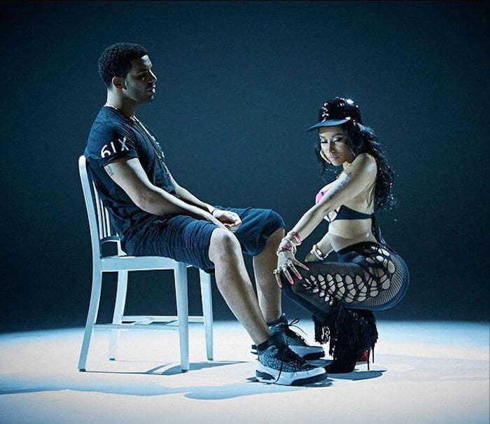 Nicki Minaj Drake lapdance 2