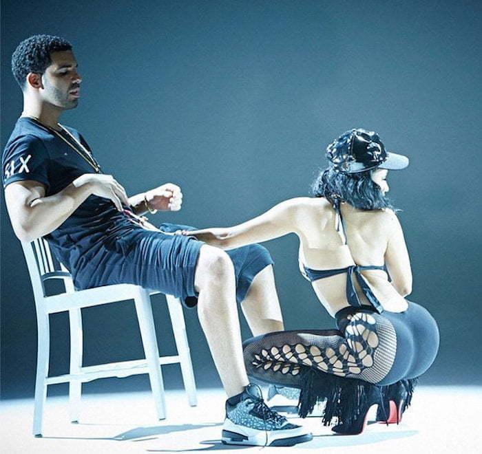 Nicki Minaj Drake lapdance 3