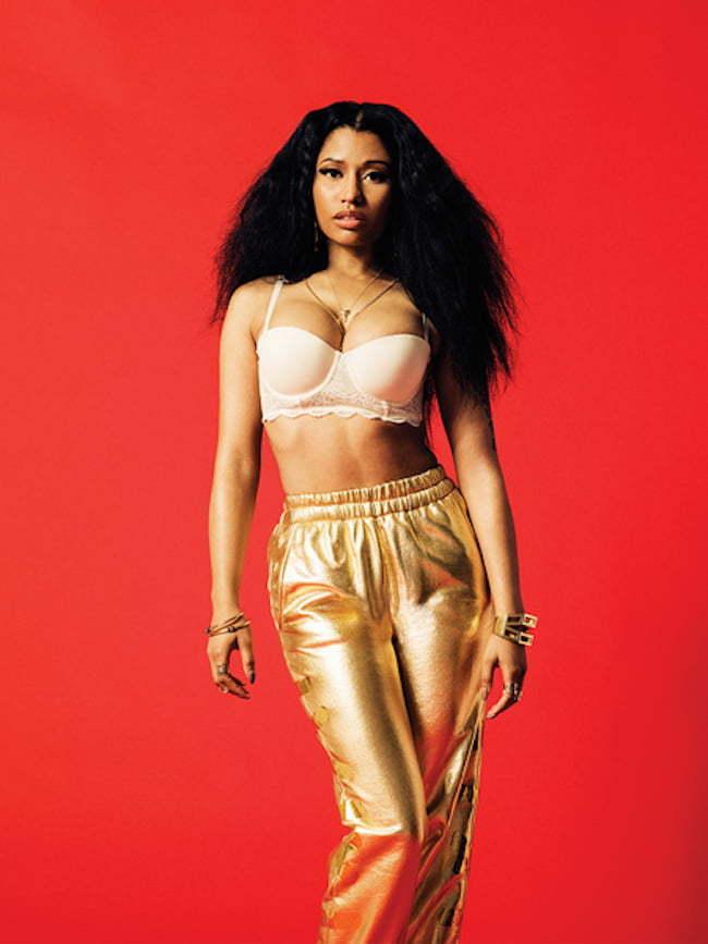 Nicki Minaj FADER 3