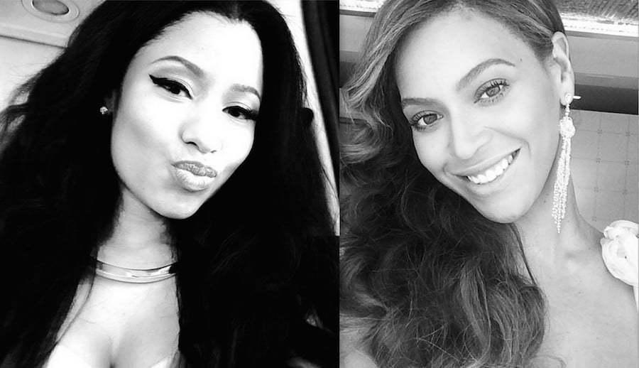 Nicki Minaj and Beyonce photo