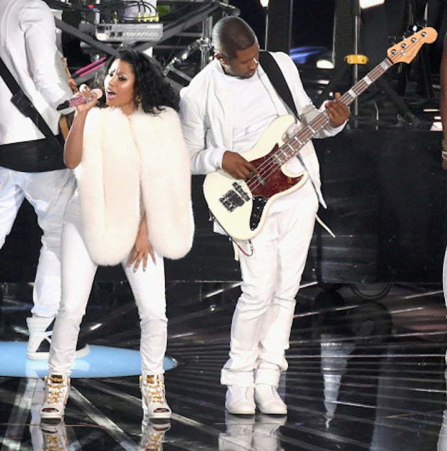 Nicki Minaj and Usher VMAs