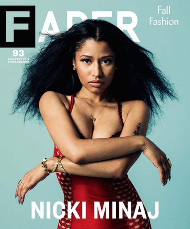 Nicki Minja FADER cover
