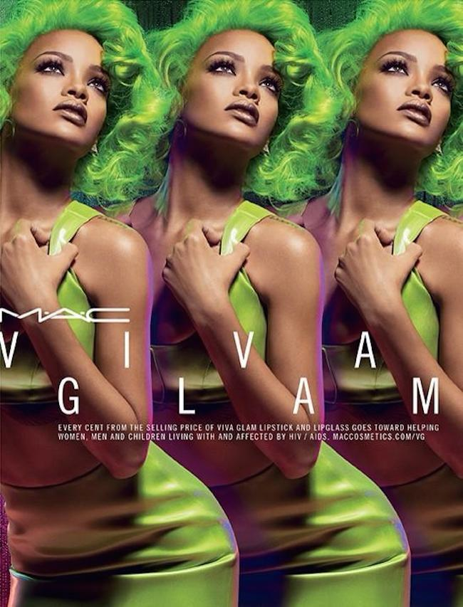 RIhanna green mac