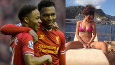 Ballers Raheem Sterling, Daniel Sturridge Drool Over Rihanna Photo