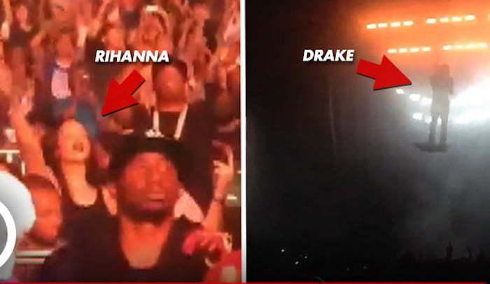 Rihanna Drake concert