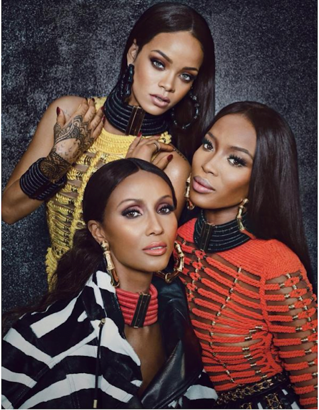Rihanna Naimi Iman W Magazine