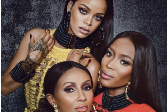 Rihanna Covers W Magazine, Poses With Naomi Campbell