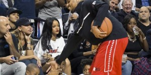 Rihanna Snubbed Chris Brown At Charity Basketball Game