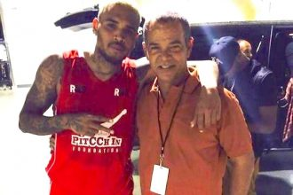 Rihanna's Dad And Chris Brown Had A Heart-To-Heart