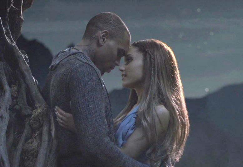 Chris Brown and Ariana Grande