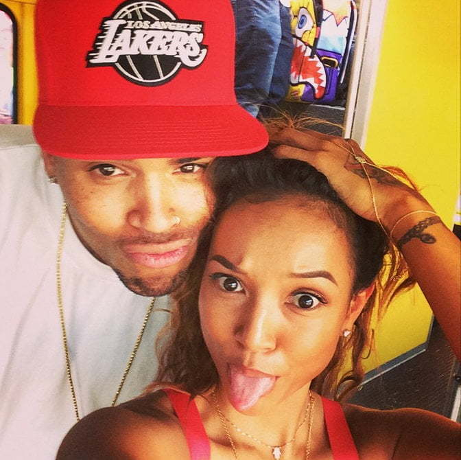 Chris Brown Is Karrueche Tran Pregnant His Baby Urban Islandz