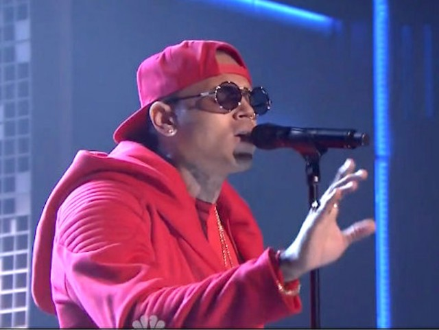 WATCH: Chris Brown Performing On Jimmy Fallon Live