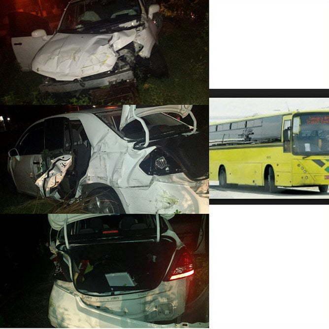 Ishawna accident