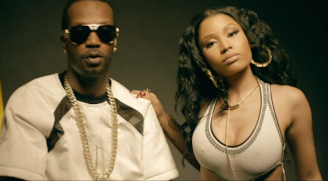 "WATCH: Juicy J, Nicki Minaj, Young Thug ""Low"" Music Video"