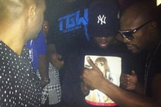 50 Cent Son Joins Floyd Mayweather The Money Team