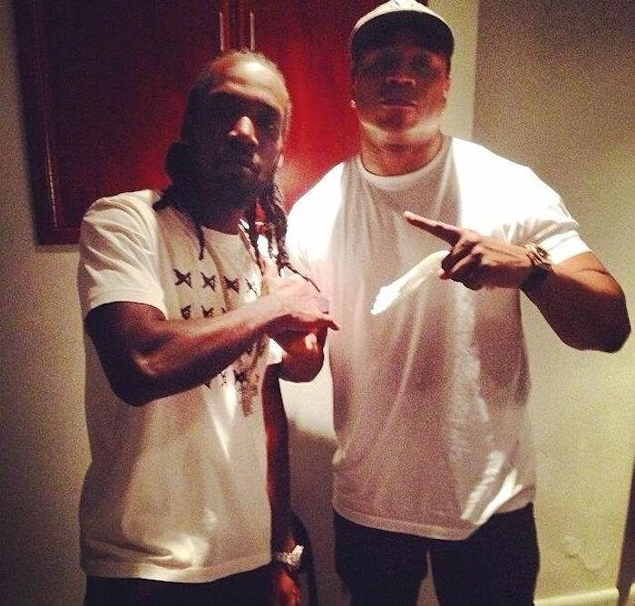 Mavado and LL Cool J