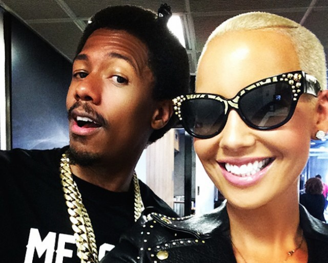 Amber Rose, Nick Cannon Spottet On Date In London