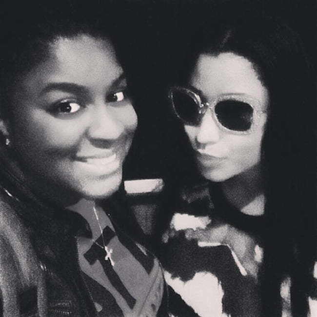 Nicki Minaj and Ester Dean
