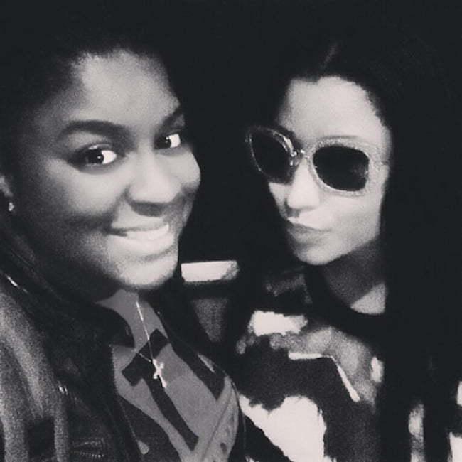 Nicki Minaj and Ester Dean