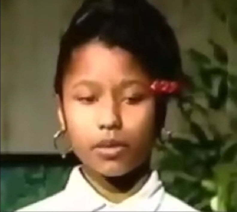Nicki Minaj younger