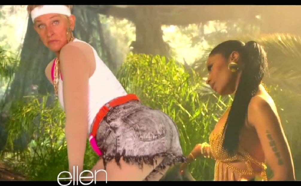 Nicki and Ellen Twerk