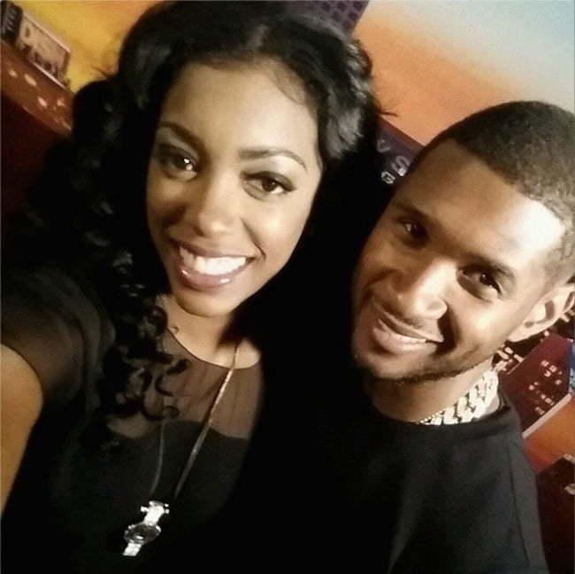 Porsha and Usher