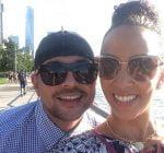 Sean Paul and wife Jodi Stewart