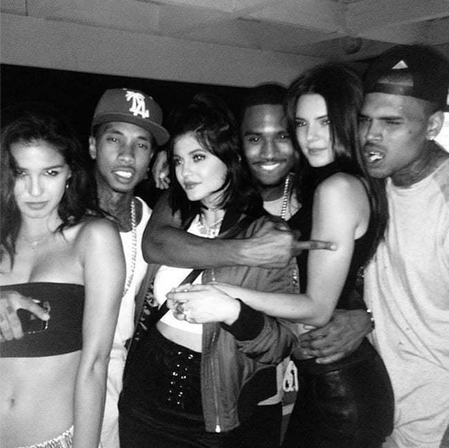 Tyga Kylie Trey Songz Chris Brown Kendall