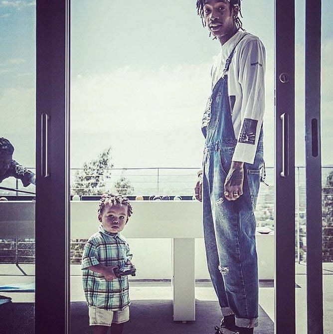 Wiz Khalifa son Sebastian