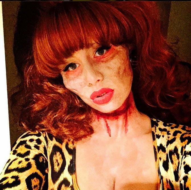 Amber Rose halloween