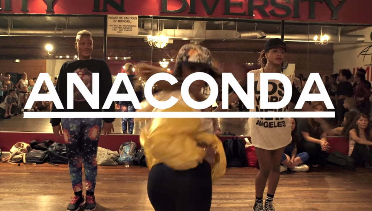 Anaconda dance routine