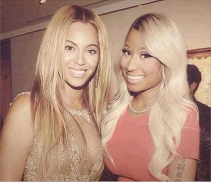 Beyonce and Nicki Minaj photo