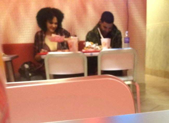 Drake and Babeo Baggins date