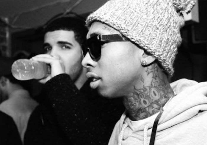 Drake and Tyga